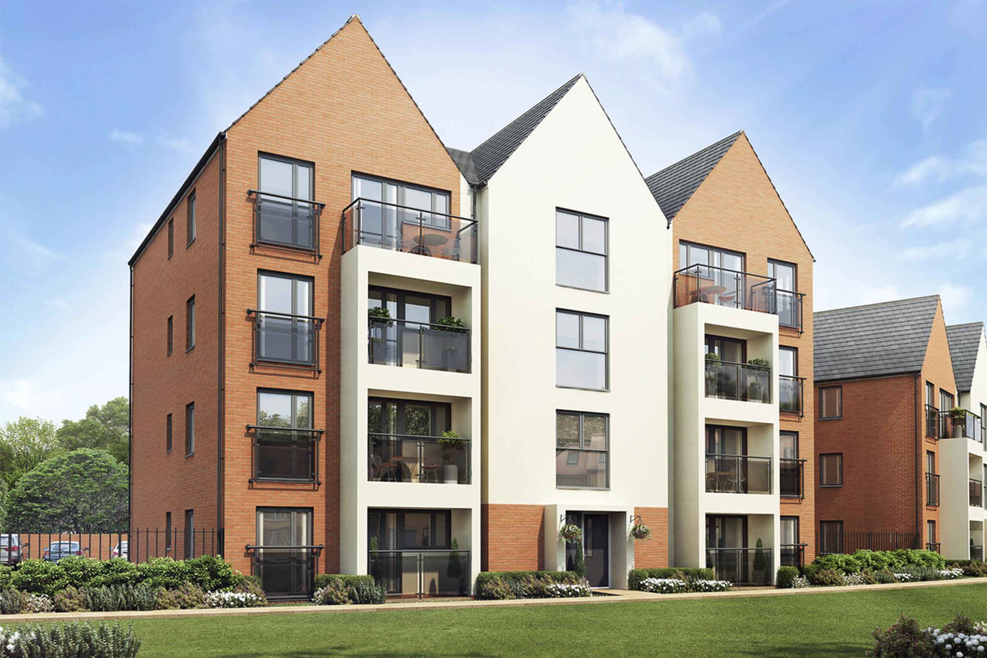 New Build Homes at Rosemoor in in MILTON KEYNES