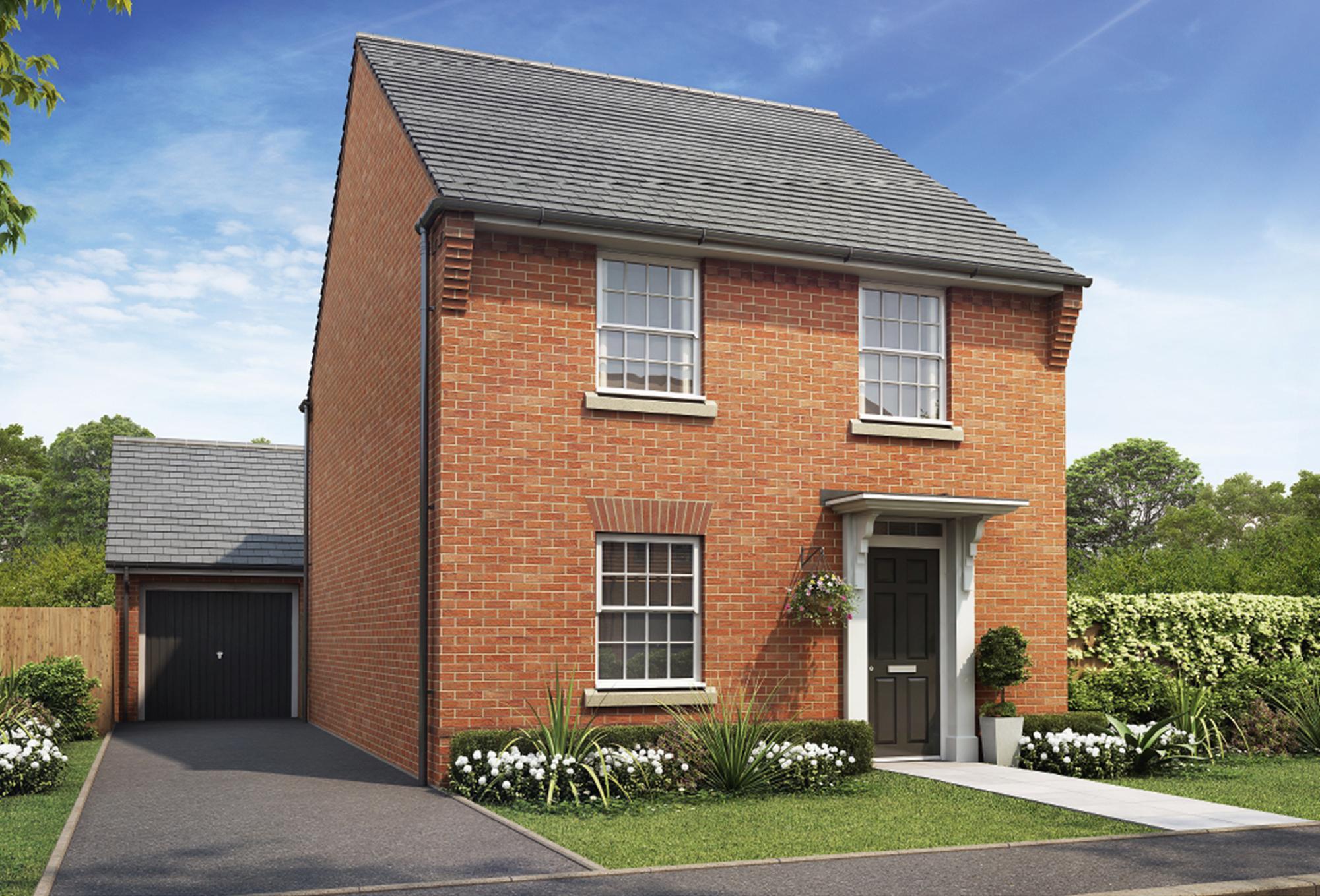 New Build Homes at Ingleby in in GRANTHAM