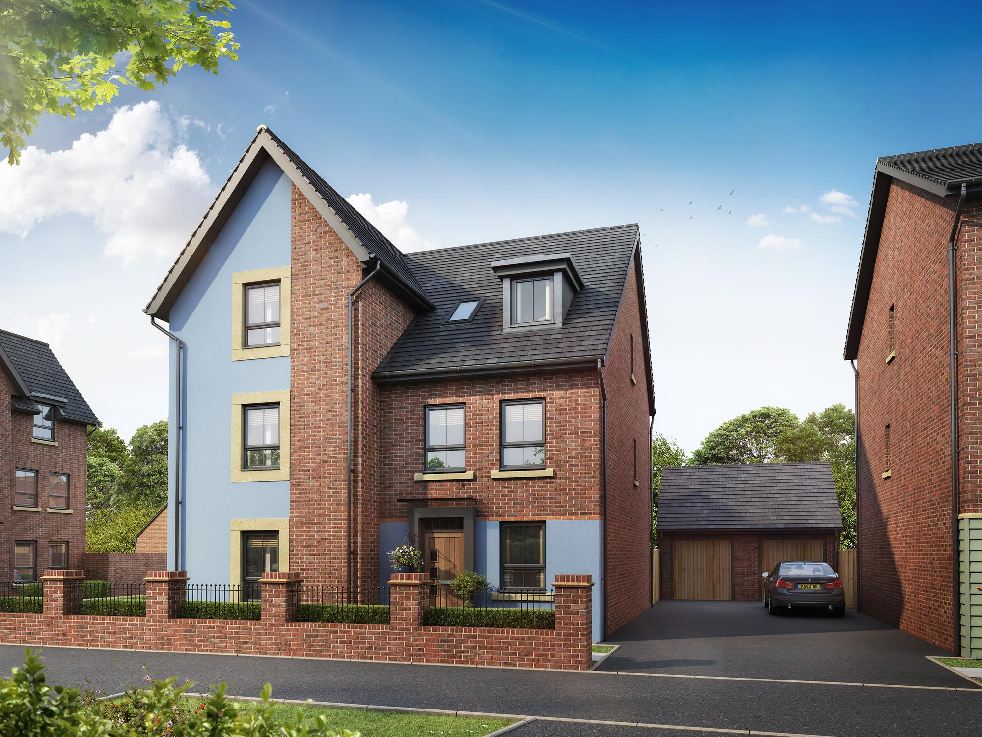 New Build Homes at Rochester in in LEICESTER