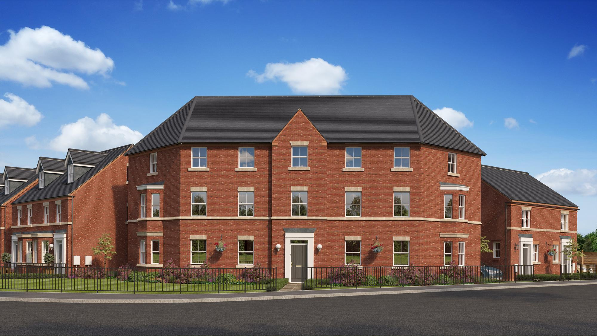 New Build Homes at BARTON in in LIVERPOOL