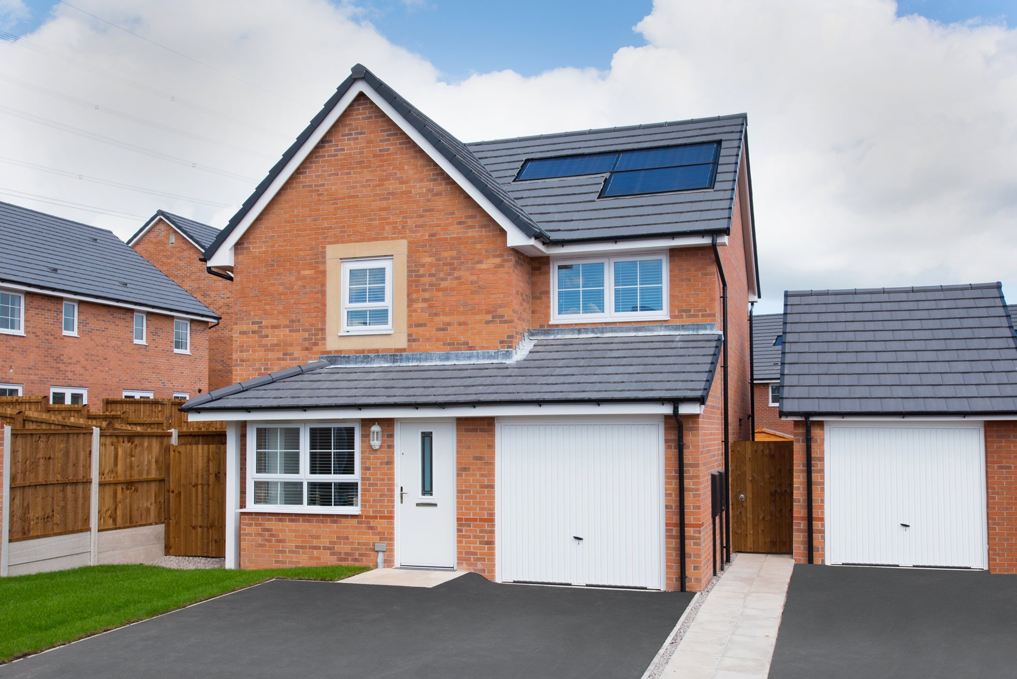 New Build Homes at Derwent in in WINSFORD