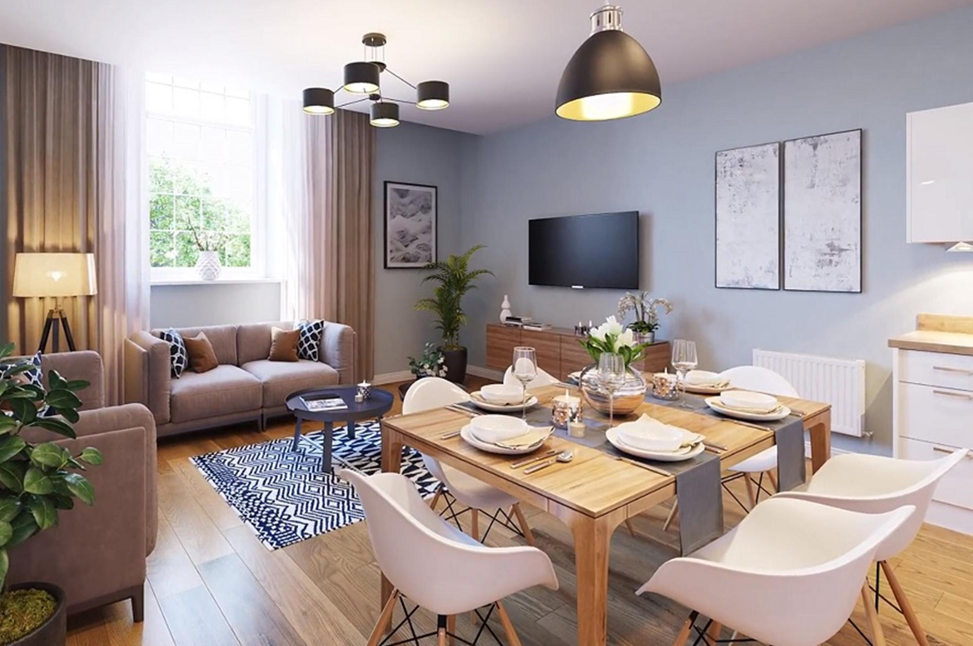 New Build Homes at Marischal House in in ABERDEEN