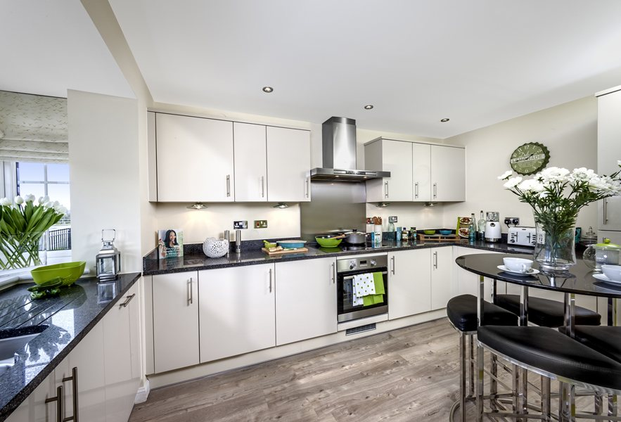 Woodvale kitchen at Kingley Gate, Littlehampton