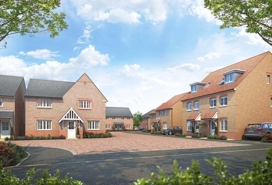 New homes in South Wigston