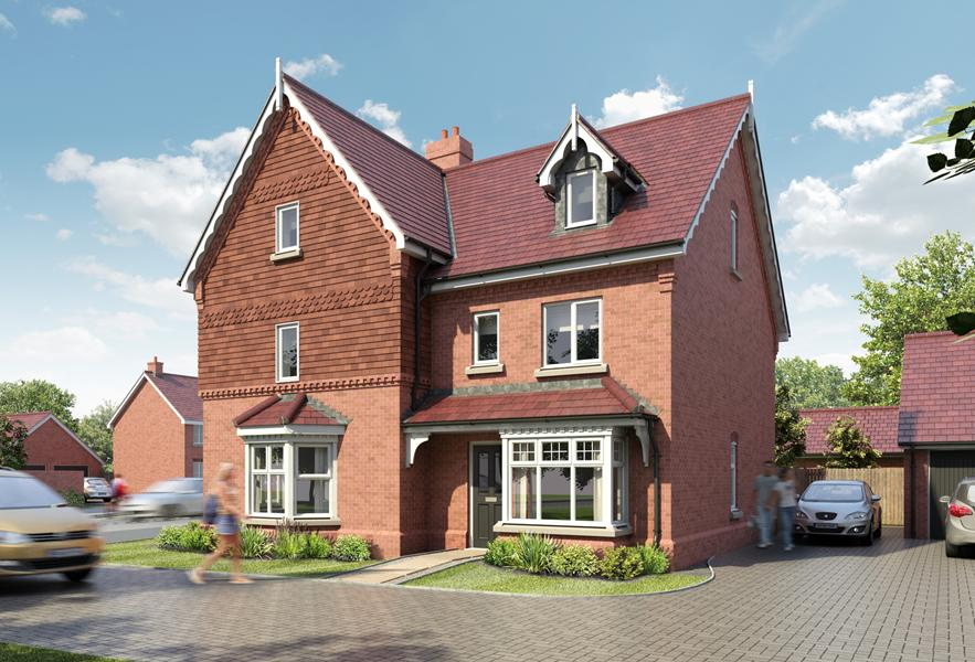 Beautiful homes coming soon to the Marston Park development