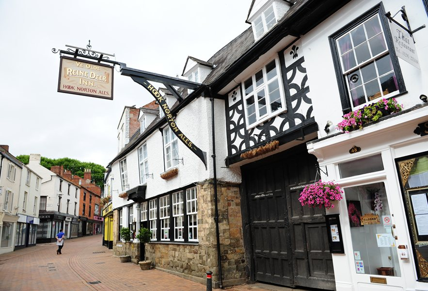 Local Ye Olde Reinedeer Inn