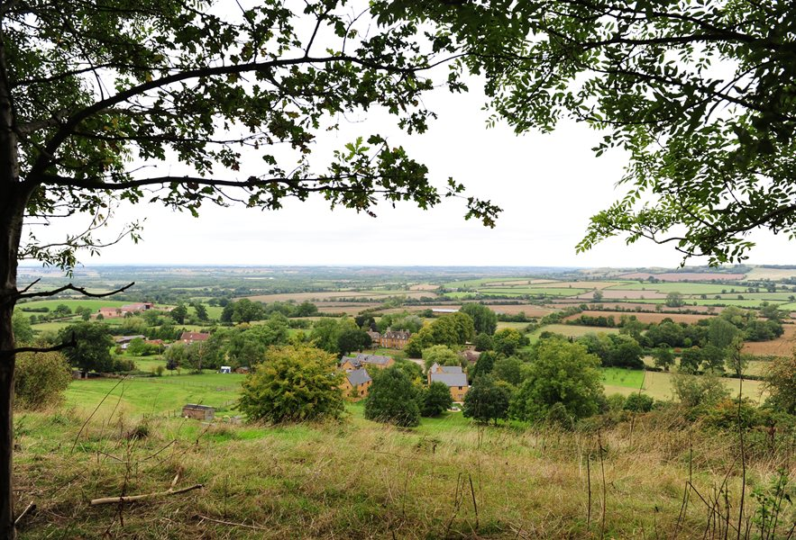 Views across Banbury