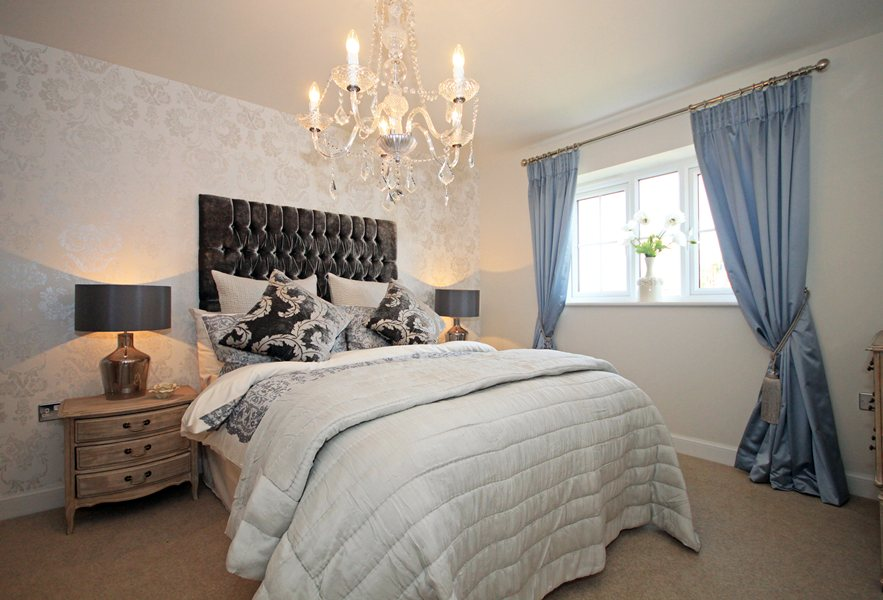 Somerton showhome bedroom