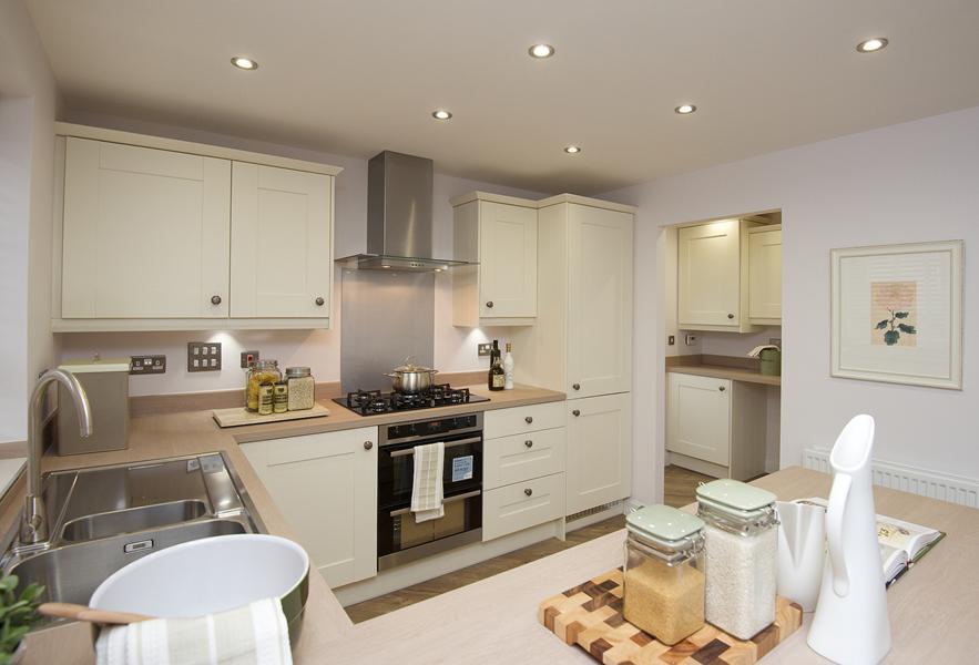 Cambridge kitchen area