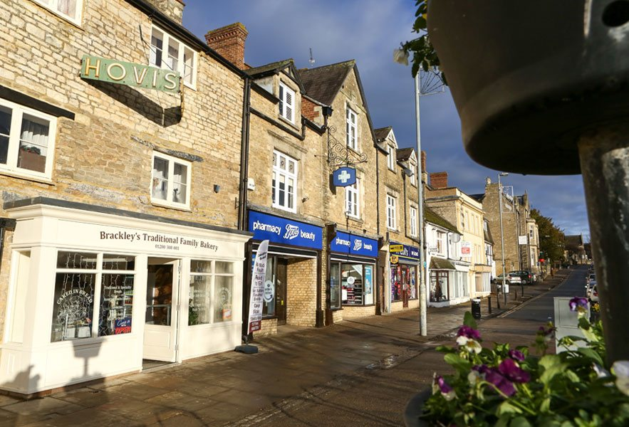 Brackley high street