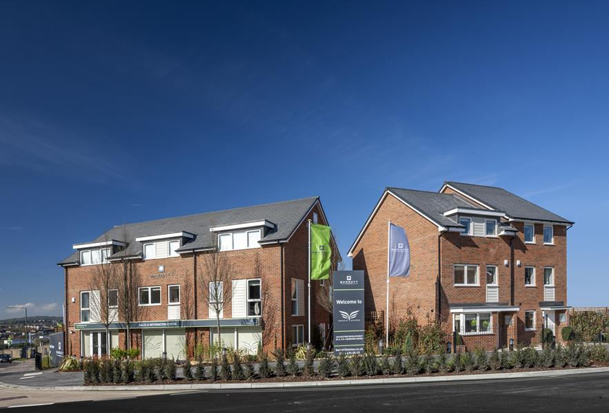 New homes at Phoenix Quarter, Dartford