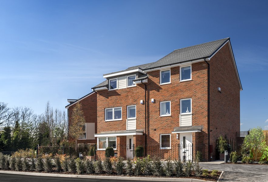 Contemporary new homes at Phoenix Quarter, Dartford