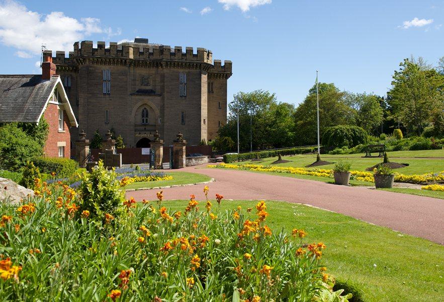 Carlisle park and Morpeth Castle