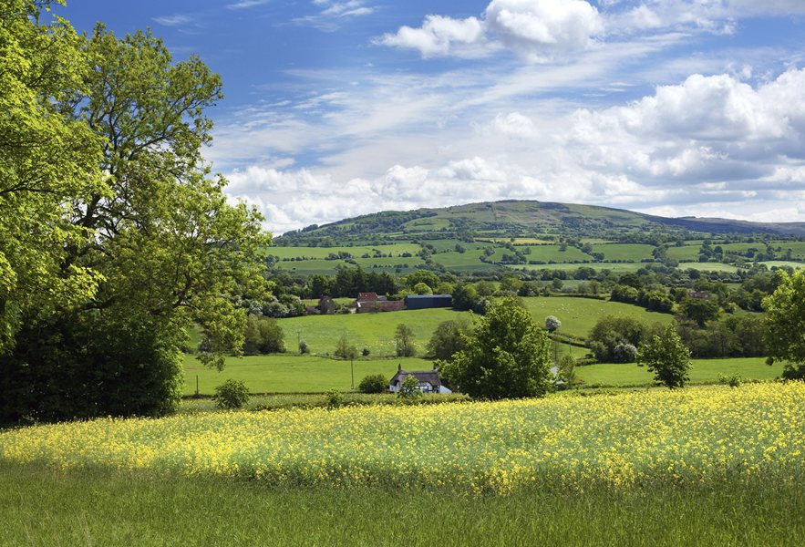 Beautiful Shropshire countryside