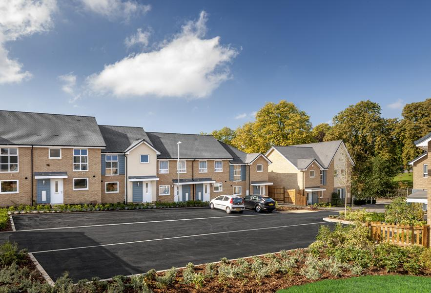 Traditional new homes at Tower Hill, Belvedere
