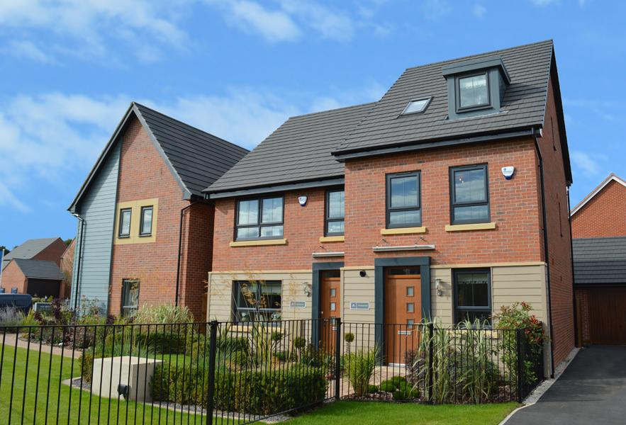 Show Homes at Woodhouse Park
