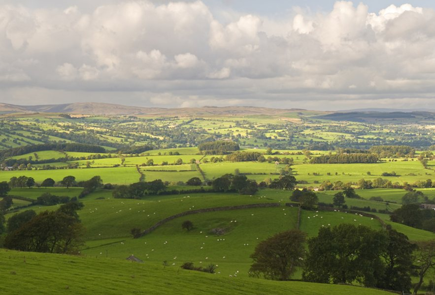 Lancashire countryside