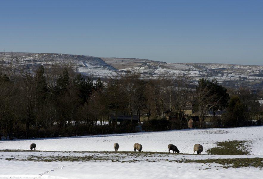 Rochdale in Winter