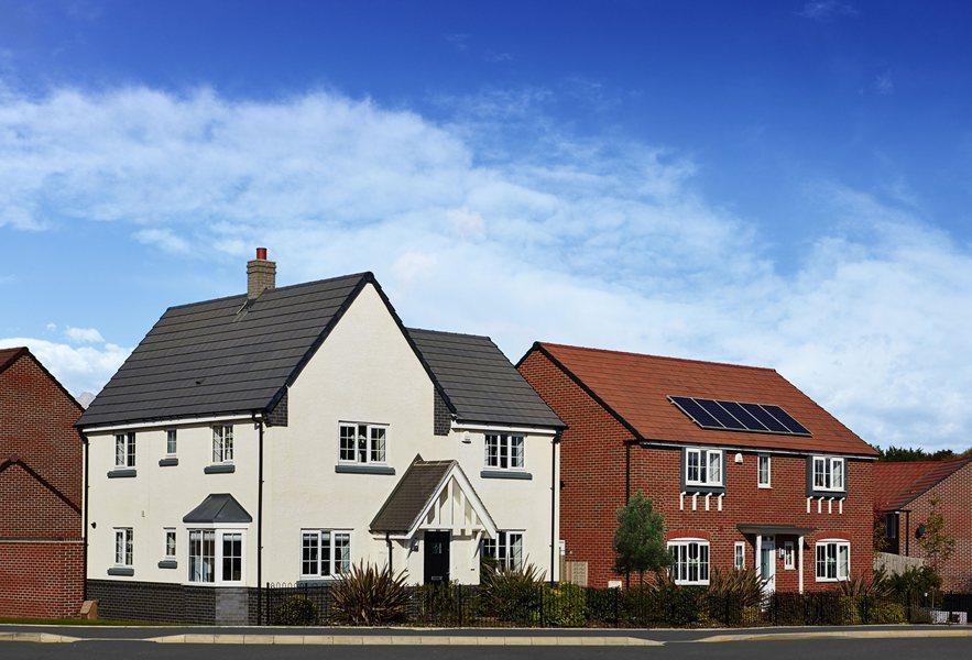 Oakhampton and Lincoln Gateway House show homes