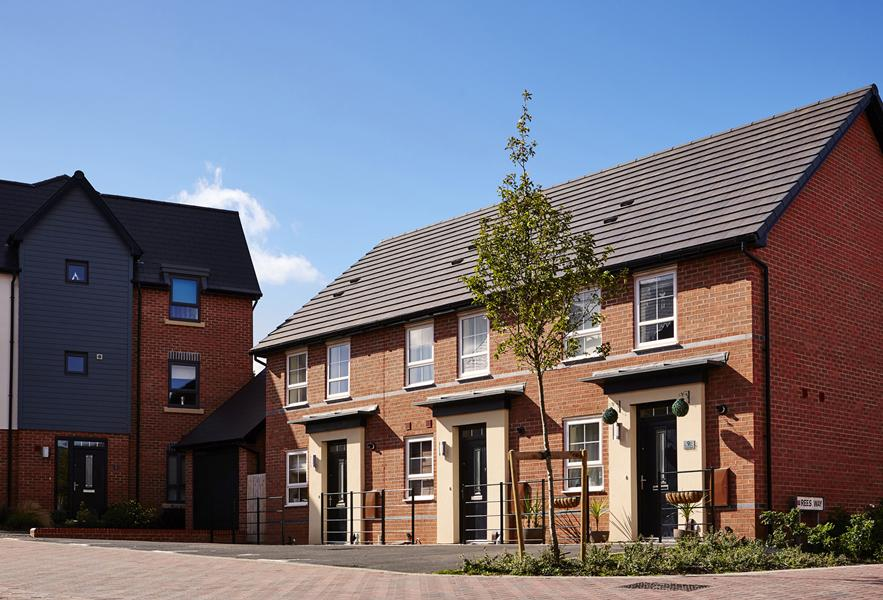 Barwick style terrace homes