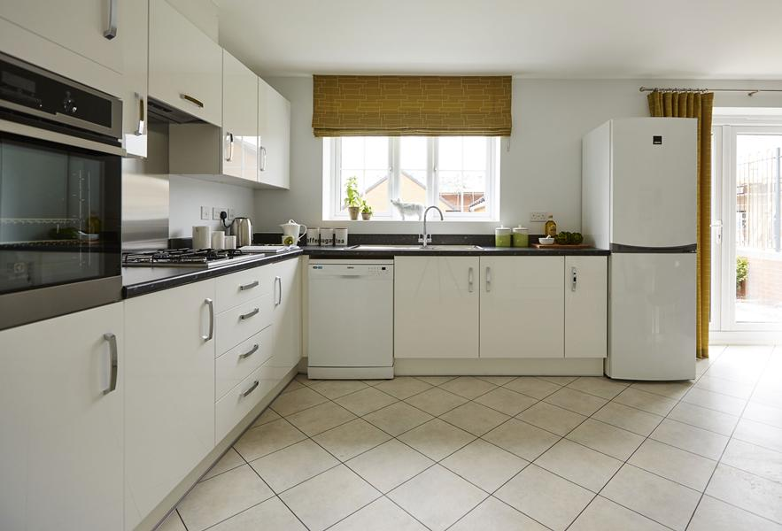 Honeysuckle Grange Chesham show home fitted kitchen