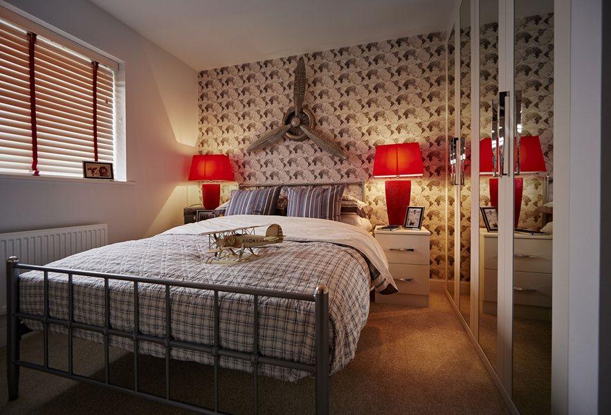 Honeysuckle Grange Thame show home third bedroom