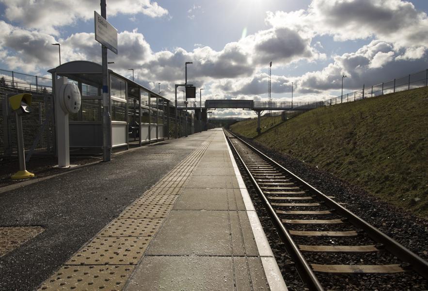 Eskbank train station