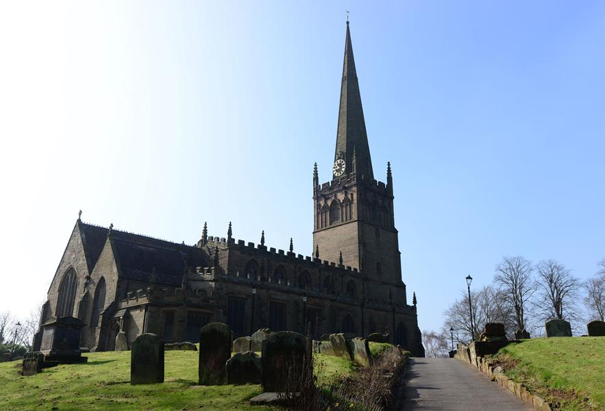 St John`s Church in Bromsgrove