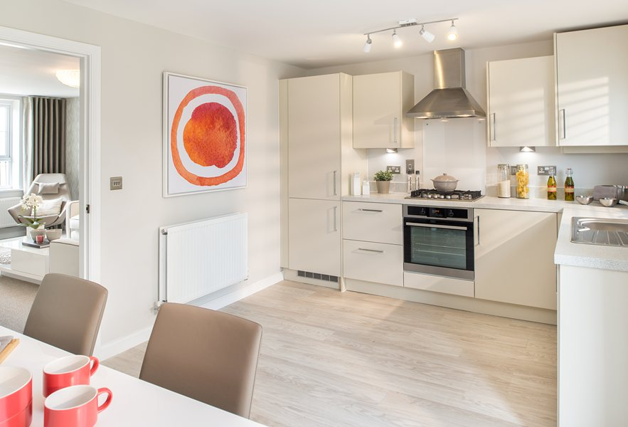 Finchley show home kitchen