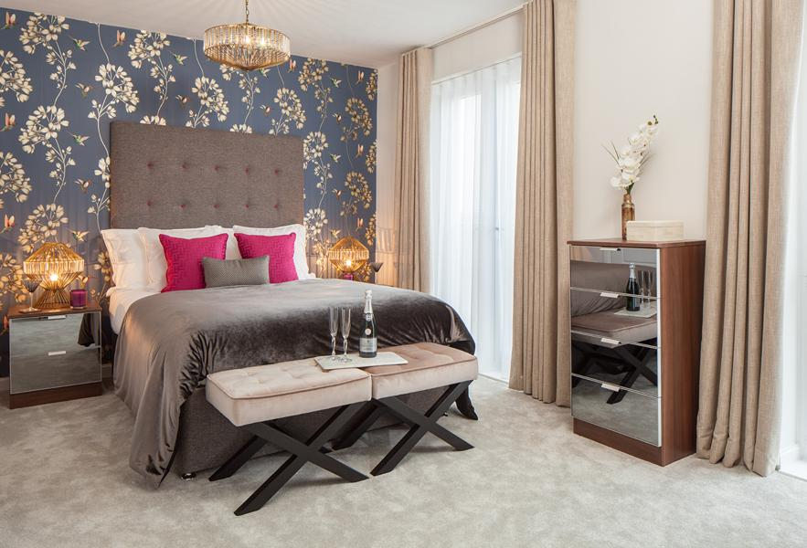 Trinity Square Show Home Bedroom