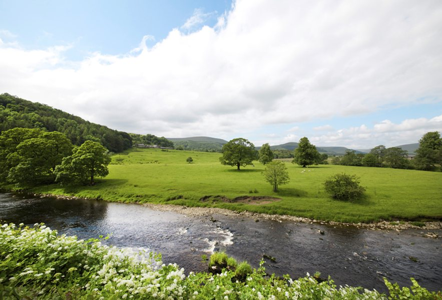 River Hodder Nr Clitheroe