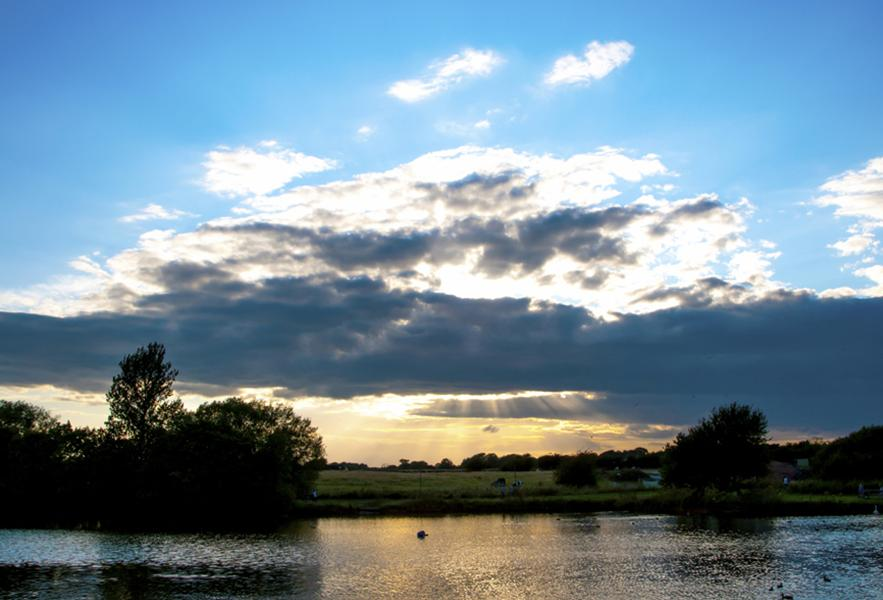 Nantwich Lake sunset