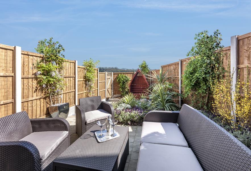 External garden image