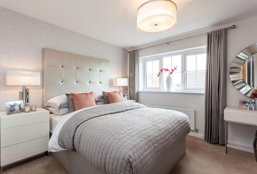 Typical Tetbury bedroom