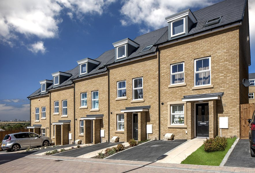 Traditional new homes at Phoenix Quarter, Dartford