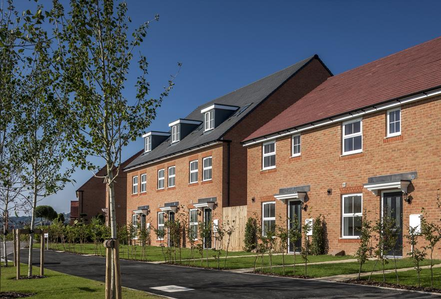 New homes at Martello Lakes, Hythe