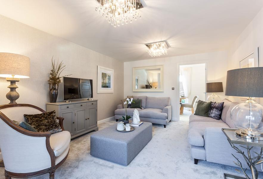 Cambridge show home lounge