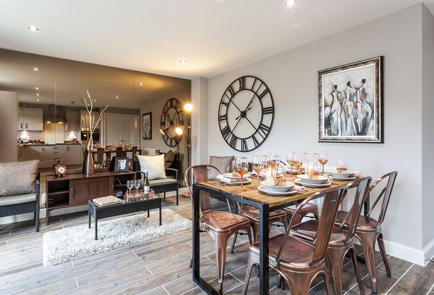 Chesham kitchen dining area