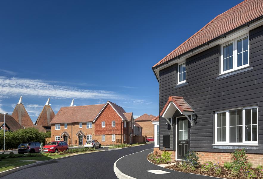 New homes at Saxon Place, Harrietsham
