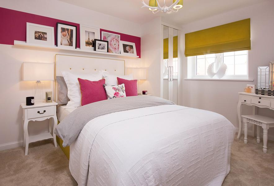 Finchley master bedroom