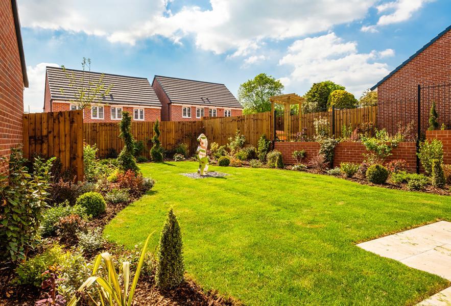 Malvern View Show Home Garden