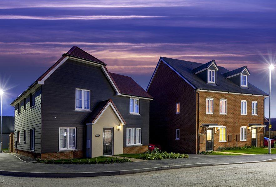 New homes at Saxon Place