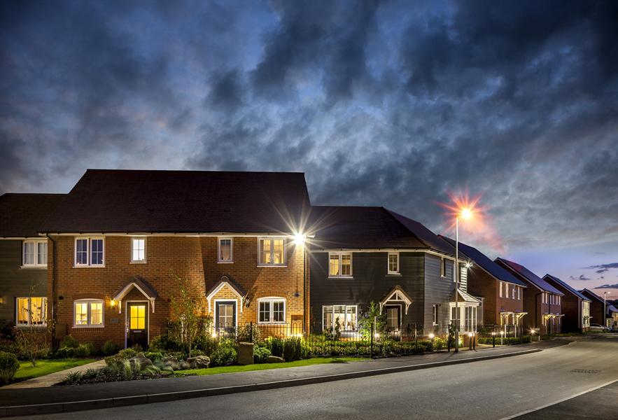New homes at Saxon Place, Harrietsham