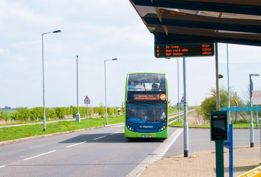 guided bus way