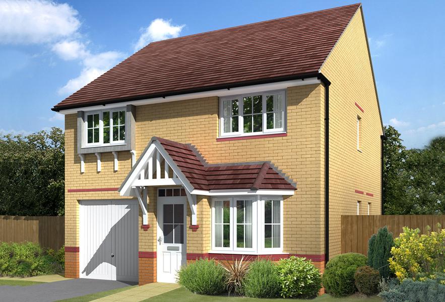 Tavistock four bedroom family home exterior