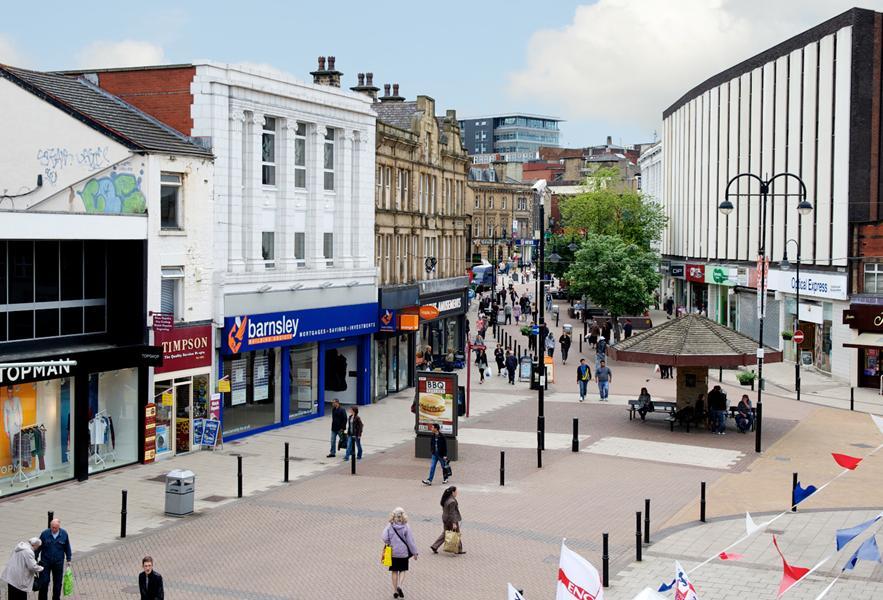 Barnsley Town Center