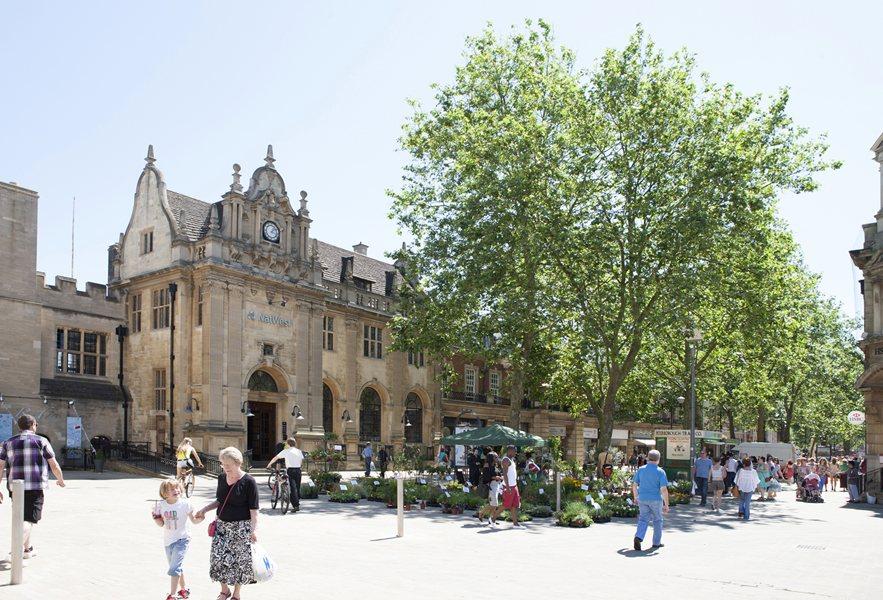 Local market - Peterborough