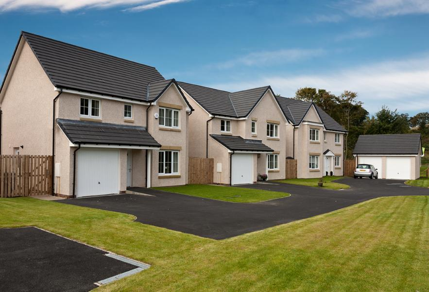 New homes in Dalgety Bay