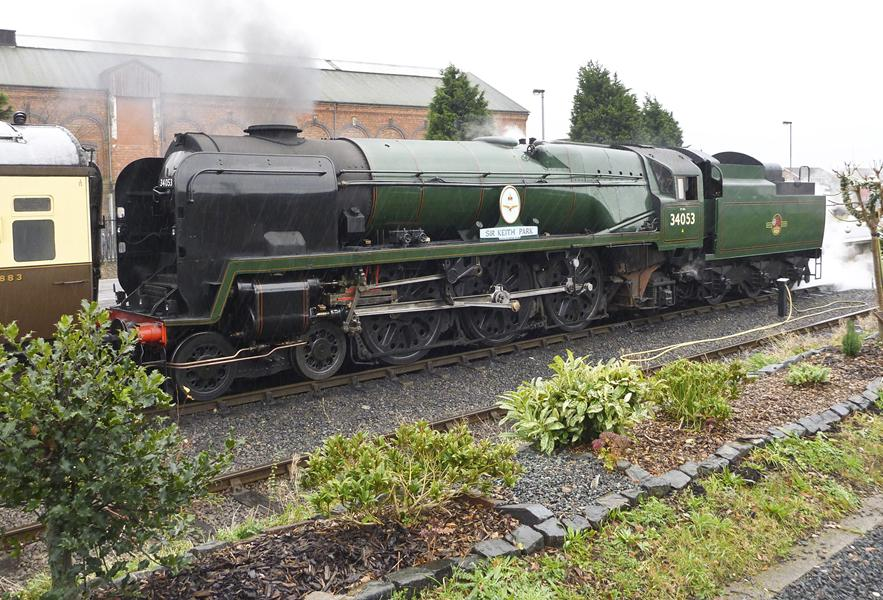 Heritage Steam Train at Chasewater Railway