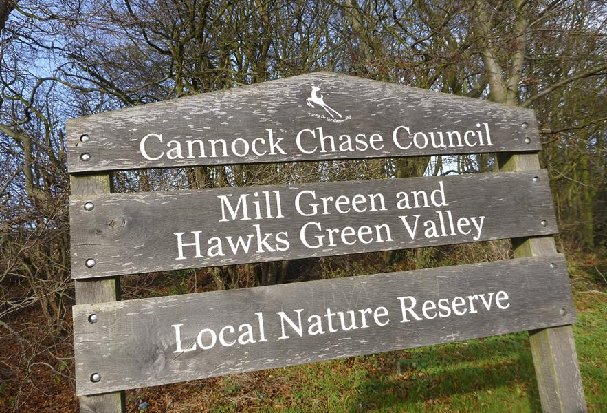 Local Nature Reserve in Cannock